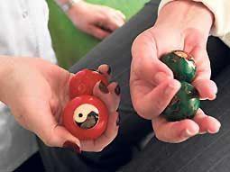 esferas chinas con sonido
