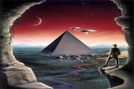Coloca las pirámides en los lugares correctos.