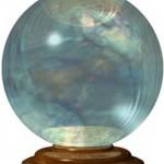 Videncia del futuro y bola de cristal. Oráculo.