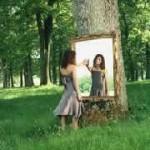 Magia en el espejo de la vida para mejorar la prosperidad.