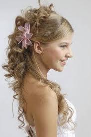 hoy da podemos peinarnos diferente para cada ocasin ya sea de da o de noche tenemos modernos peinados para bodas quince aos primera comunin