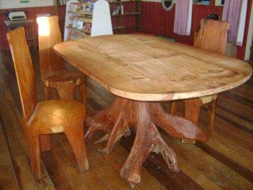 mueble rustico comedor