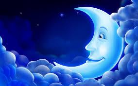 luna sonriente