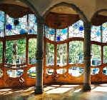 Gaudi, ejemplo de buen feng shui.