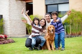 La familia estará completa si existe la felicidad.