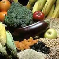 Prefiere los alimentos con fibra alimentaria.