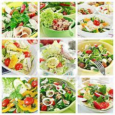 Una ensalada al día es como el sol que entra a tu hogar.