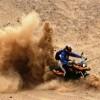 Motos. Motocicleta de arena.