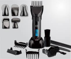 Equipos portátiles para cortar cabello en casa.