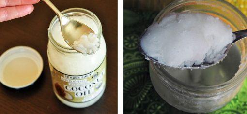 aceite de coco envasado